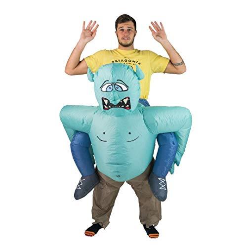 Bodysocks Fancy Dress Disfraces Hinchable de Troll Adulto