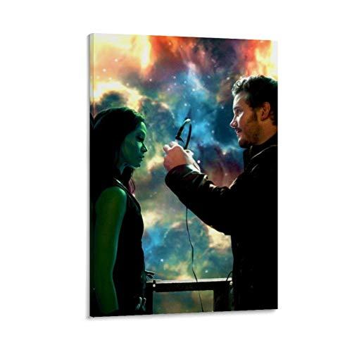 Póster de la película Guardianes de la Galaxia, Star Lord, cuadros gamora decorativos, para sofá, decoración de pared, listo para colgar, 40 x 60 cm