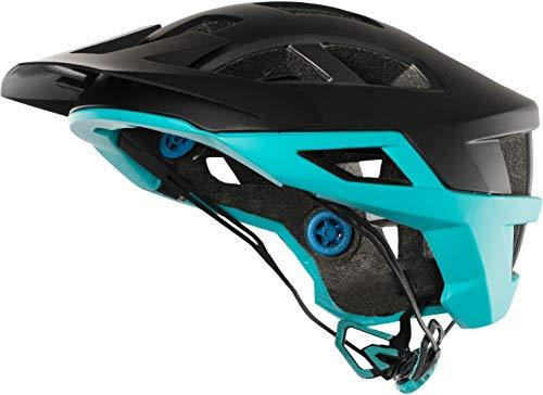 Leatt Brace Helmet DBX 2.0 - Casco de Bicicleta - Negro/Turq