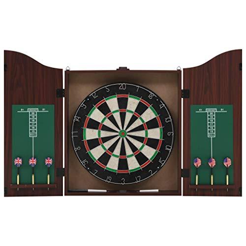 vidaXL Dartboard Set mit Kabinett