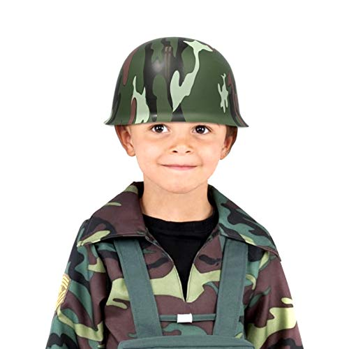 Anapoliz Army Helmets for Kids   12 Count Plastic Camouflage Hats   Soldier Helmet Party Favors   Camo Costume Dress Up Hat