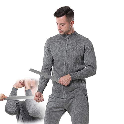 TBDLG Flexible Schutzweste, Outdoor Anti-Messer-Anzug, Unsichtbare Biss- Und Reißfeste Schützen Sie Ihre Sicherheit Und Reisen Sie Sicher Im Freien,XL
