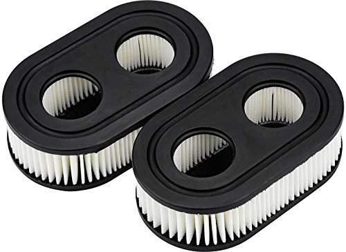 Demason 2 Stück Luftfilter für Briggs & Stratton Motoren 550E 550EX Eco-Plus 575EX Series Ersetzt 798339 798452 593260 093000er 09P0000er Motor 4247 5432 5432K