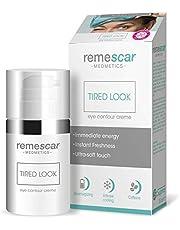 Remescar - Moe blik - crème voor gezwollen ogen - vermoeide oogcrème - anti-aging oogcrème voor fijne lijntjes en rimpels - verkoelende vochtinbrengende crème voor mannen en vrouwen.