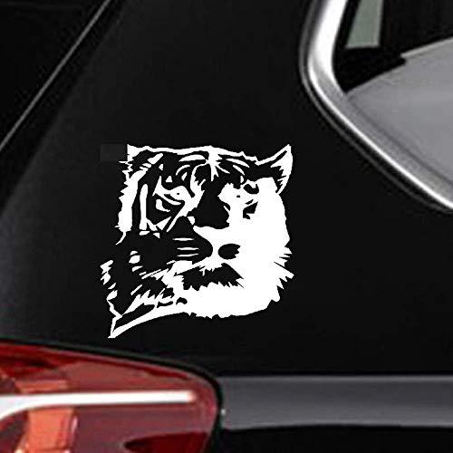 20 x 20 cm gepersonaliseerde reflecterende tape tijger hoofd stickers auto stickers auto Styling auto stickers voor auto laptop raam sticker