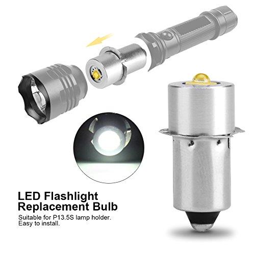 Delaman P13.5s LED Brine LED reservelamp 3W voor zaklampen hoge kwaliteit super helder gelijkstroombedrijf