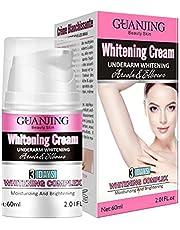 Whitening Cream Brightening Cream Underarm Lightening Cream voor Oksels Knieën Ellebogen Gevoelige en privégebieden Whitening Cream, Underarm Lightening Cream