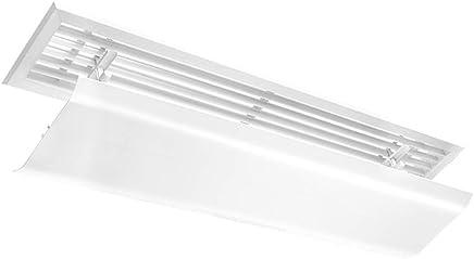 空調風デフレクター 普遍的なセントラル?エアコンのウィンドディフレクターのバッフル、エアコンの側面の空気出口カバー空気デフレクター (サイズ さいず : 60 cm-Length)
