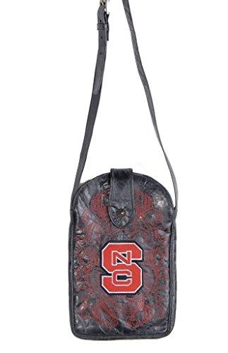 Gameday Boots NCAA North Carolina State Wolfpack Cross-Body-Damen Geldbörse, Damen, NCS-P052, Schwarz, Einheitsgröße