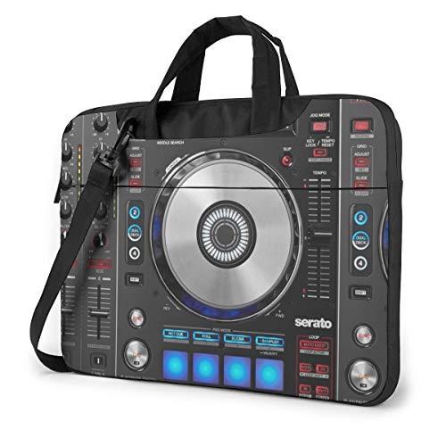 Laptop Messenger Bag Digital DJ Controller Waterproof Notebook Sleeve Shoulder Bag Laptop Carrying Case Handbag with Strap,Compatible with MacBook Tablet Ultrabook (13 in,14 in)