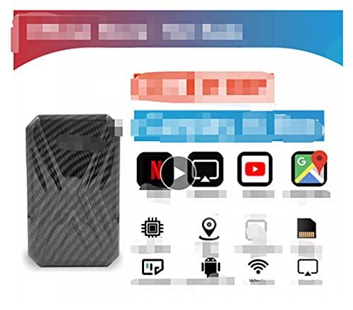 FANGFANG Wying Store Carplay AI Box Box Android Caja Coche Multimedia Player Nueva versión 4 + 32g Enlace de Espejo inalámbrico para Apple Carplay Android Auto TV Box (Color : 4(RAM) 32GB(ROM))