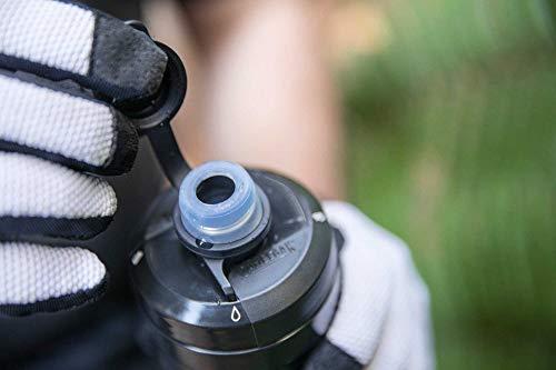 CAMELBAK(キャメルバック)ポディウムダートシリーズチル自転車用保冷保温ボトル保冷効果2倍泥汚れ防止キャップ付きやわらかい飲みやすい620ml(21oz)シャドーグレー/サルファ18892160