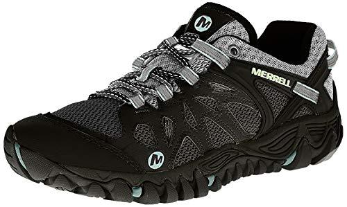 Merrell Women's All Out Blaze Aero Sport Hiking Water Shoe,Black/Aventurine,10.5 M US