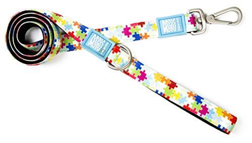 Max & Molly puzzel - hoogwaardig en kleurrijk - uniek design - comfortabel, veilig, gewatteerd neopreen - sportief en elegant - kort linnen, XS