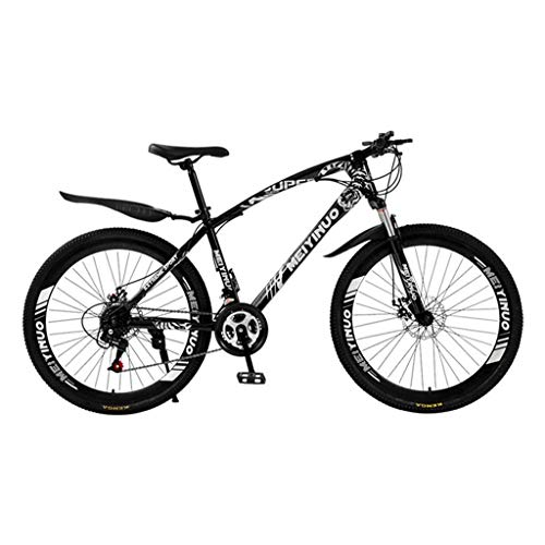 Bicicleta de montaña Mountainbike Bicicleta Bicicletas de montaña for hombre / Bicicletas, suspensión delantera y doble freno de disco, ruedas de 26 pulgadas Bicicleta De Montaña Mountainbike MTB Bici