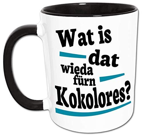 Kokolores Ruhrpott Sprüche Tasse, Ruhrgebiet Geschenk, Ruhrpott Dialekt Geschenkidee, Ruhrpott Wörter, Kaffeepott, Kaffeebecher, Kaffeetasse Lustig