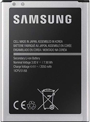 Samsung EB-BJ120CBEGWW Batteria per Galaxy J1 2016, 2050 mAh
