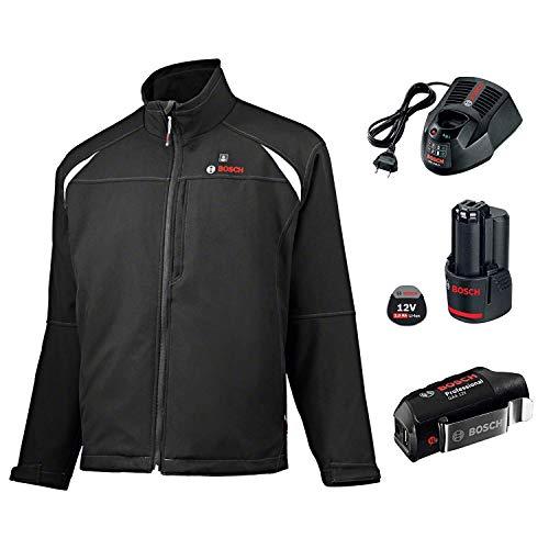 Bosch, giacca termica professionale GHJ 12 + 18 V, unisex, (batteria 2.0...