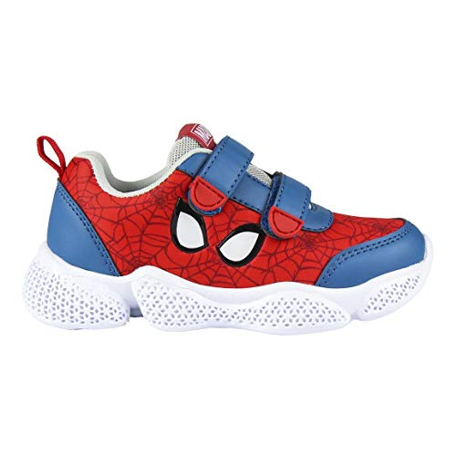 Marvel Spiderman Sneakers, Boys Trainers Sneakers Shoes, Incredible Design,...