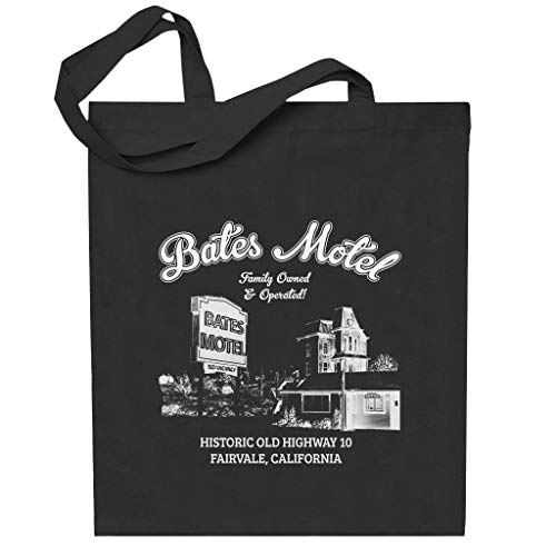 Cloud City 7 Psycho Bates Motel Family Owned And Operated Totebag