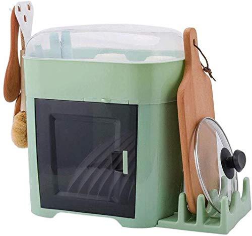 XXT Chargement Arts de la table Boîte de rangement Boîte de vidange Mettez le récipient Bowl rack cuisine maison avec couvercle bol bol vaisselle Armoire en plastique