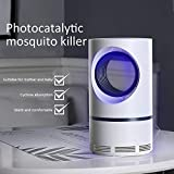 Dubleir Lámpara Antimosquitos – 5W Trampas para Insectos Mosquitos Eléctrico para Proteger a los niños, Mata Insectos con 368NM Luz Ultravioleta USB LED, Sin Productos Químicos
