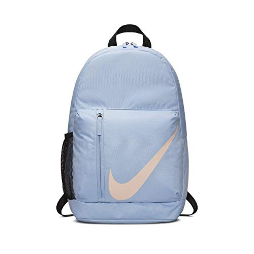 Nike Y NK Elmntl Bkpk, Sac à dos Mixte Enfant, Multicolore (ALMNM/Blck/CRMSNTINT), 24x36x45 centimeters (W x H x L)