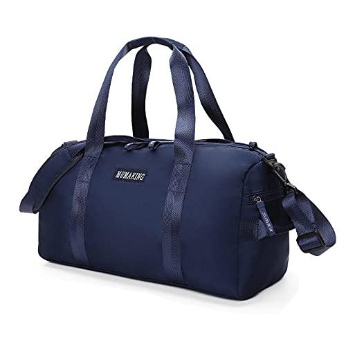 YXYLD Bolsa de Deporte, Hombre Bolsas Gimnasio Bolsos de Viaje Grande Bolsos Deportivos Bolsa Fin de Semana Travel Duffle Bag para Mujer