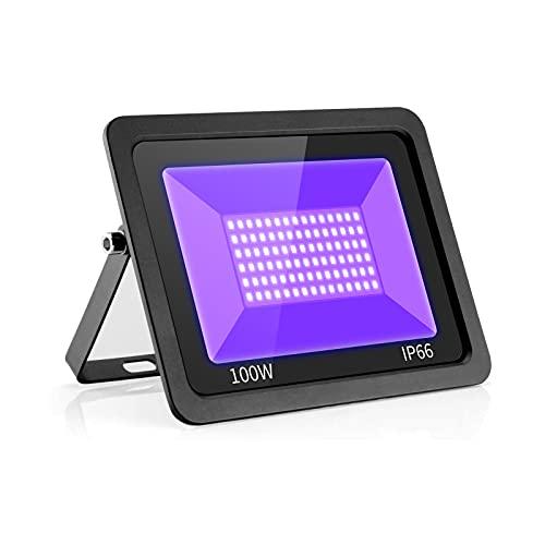 Eleganted 100W Projecteur LED Lumière Noire 395-400nm IP66 L