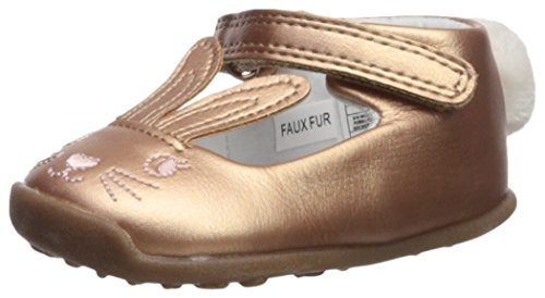 Carter's Every Step Girls' Stage 3 Walk, Esti-WG Ballet Flat, Pink, 4.5 M US (12-18 Months)