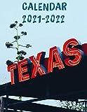 Texas Calendar 2021-2022: Mini Calendar 2021-2022 - 24 Months Calendar & Planner