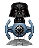Figura de Vinilo Pop! Star Wars 176 - Darth Vader with Tie Fighter (0cm x 14cm)...