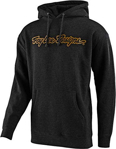 Troy Lee Designs Men's Signature SP20 Hoody,Large,Charcoal