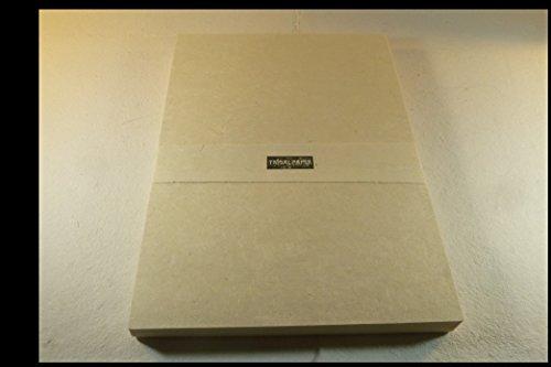 LieblingsBüttenPapier aus Seidelbast handgeschöpft A4 100 Bogen geriest Büttenpapier Briefpapier f. Drucker und Handschrift