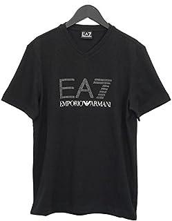 EMPORIO ARMANI エンポリオ アルマーニ 半袖Tシャツ 3YPTF8 PJ18Z 黒