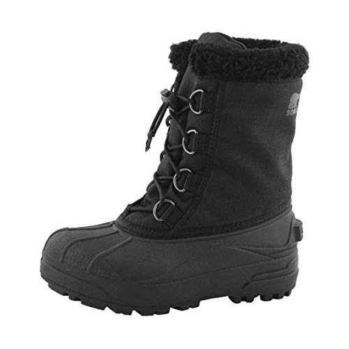 Sorel Youth Cumberland Boot for Snow - Waterproof - Black - Size 2