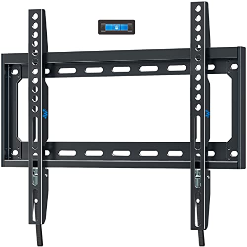 Mounting Dream TV Mount Fixed for 26-55 Inch LED, LCD and Plasma TV, TV Wall Mount Bracket up to VESA 400x400mm and 100 LBS Loading Capacity, Low Profile and Space Saving MD2361-K