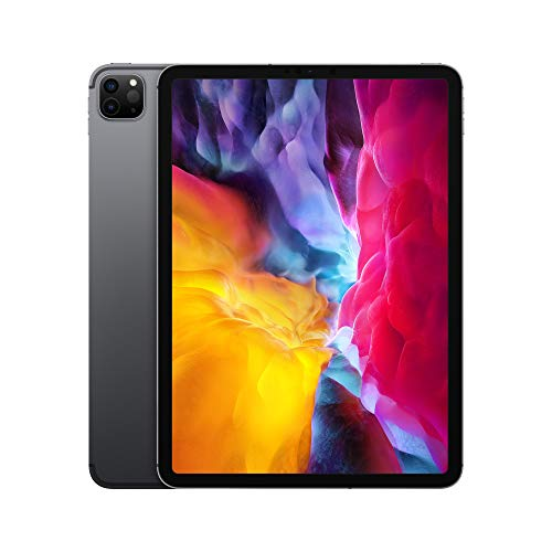 Apple iPad Pro (11-inch, Wi-Fi + Cellular, 256GB) – Space Gray (2nd Generation – 2020)