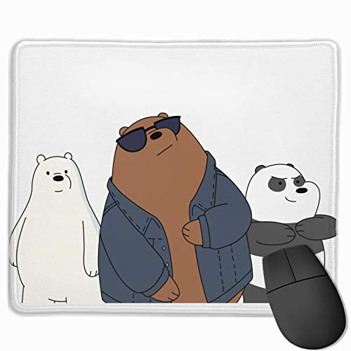 We Bare Bears Mouse Pads Keyboard Mouse Pad Non-Slip Nature Rubber