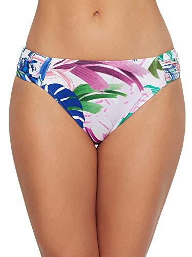 Profile by Gottex Women's Standard Side Tab Swimsuit Bottom, Tropicana Multi, 8