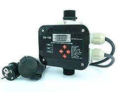 Digitale vollautomatische Pumpensteuerung CH 20 2.2 von CHM GmbH. Die Pumpensteuerung ist geeignet für Ihre Hauswasserversorgung in Haus & Garten. Technische Daten: Eingangsspannung: 220-240 Volt Maximaler Betriebsdruck: 10 Bar Arbeits-und Schaltleis...