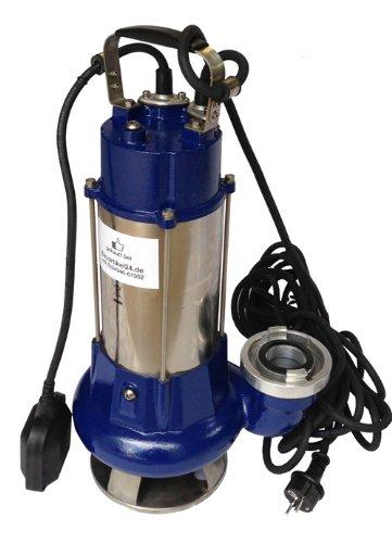 Schmutzwasserpumpe Tauchpumpe Vortex 1340 G