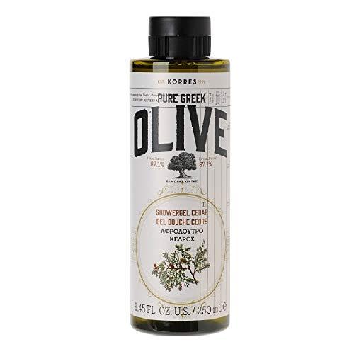 Korres Olive und Cedar Duschgel, 1er Pack (1 x 250 ml)