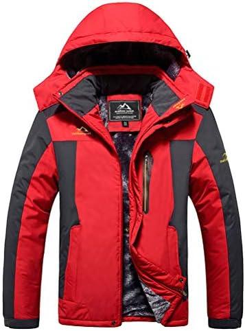 MAGCOMSEN Mens Winter Coats Waterproof Rain Jacket Hoodis for Men Parka Jacket Work Jacket Fleece product image