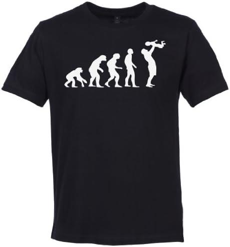 SR - Evolución To A Dad Camiseta Hombre - Camisetas Padre - Padre Regalo - Camiseta El día de la Padre
