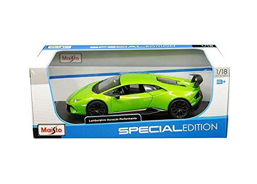 New DIECAST Toys CAR MAISTO 1:18 Special Edition Huracan PERFORMANTE (Green) 31391GRN