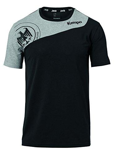 Kempa Herren DHB Replica T-Shirt, schwarz, 116