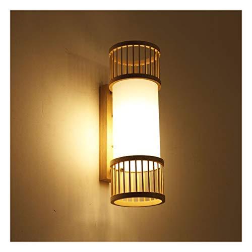 A-ZHP W. Lámpara de Pared, lámpara de Noche Japonesa, Dormitorio Simple Escalera lámpara de Pared de la lámpara de Pared del Pasillo [Clase de energía A ++]