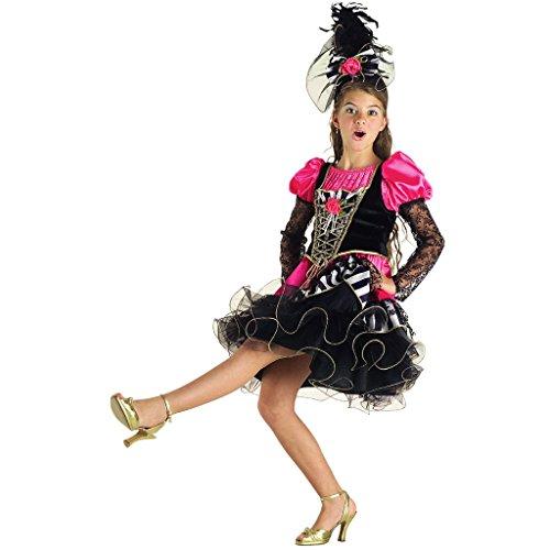 Ballerina Can Can 107 cm Taglia 6//7 Anni Pegasus Vestito Costume Maschera di Carnevale Bambina