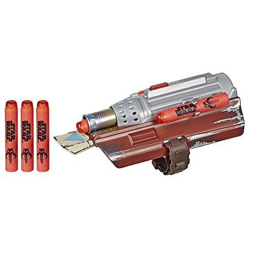 Star Wars NERF The Mandalorian Rocket Gauntlet, NERF Dart-Launching Toy for Kids Roleplay, Toys for Kids Ages 5 and Up